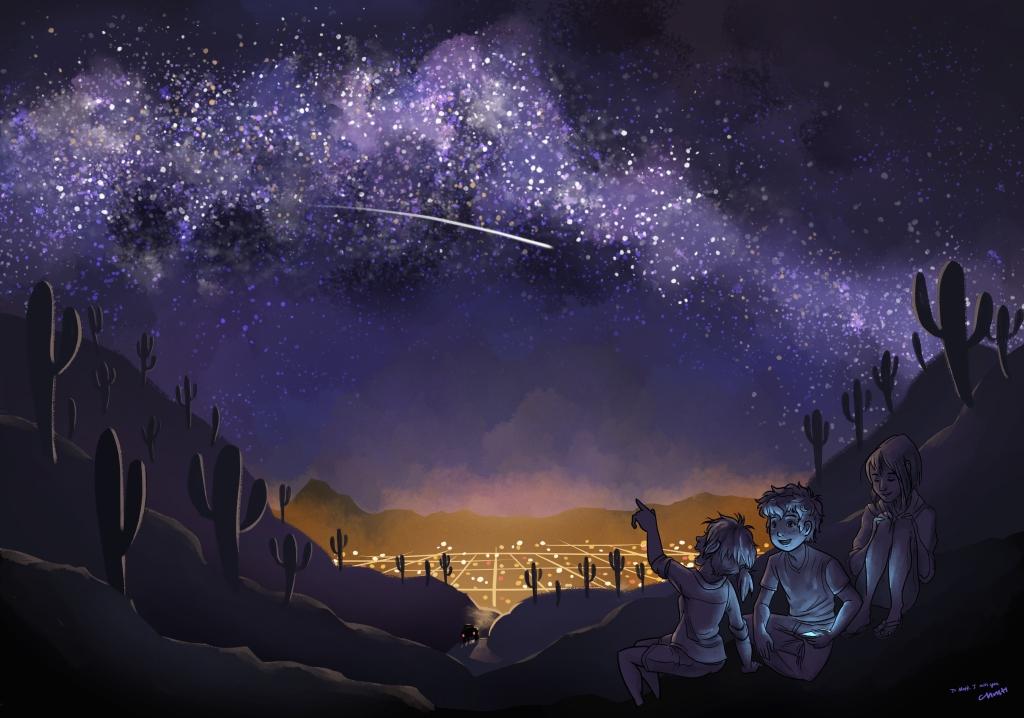 Infinity Above Us (In Memory of Mark Garity)
